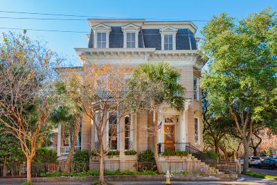 Charleston Single Family Home Contingent: 73 Rutledge Avenue