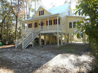 Edisto Island Single Family Home Contingent: 8723 Raccoon Island Road