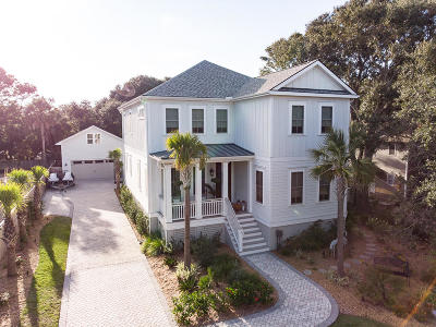 Isle Of Palms Single Family Home For Sale: 9 22nd Avenue