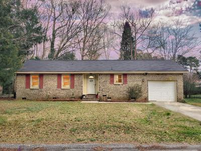 Summerville Single Family Home Contingent: 169 Braly Drive
