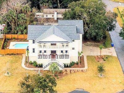 Isle Of Palms Single Family Home Contingent: 17 30th Avenue