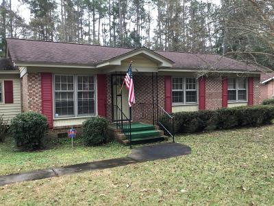 Walterboro Single Family Home For Sale: 121 Sharon Drive