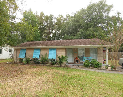 Mount Pleasant Single Family Home Contingent: 1121 N Shadow Drive