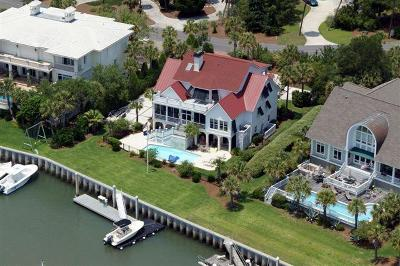 Isle Of Palms Single Family Home Contingent: 41 Waterway Island Drive