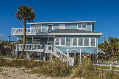 Edisto Beach Single Family Home For Sale: 516 Palmetto Boulevard