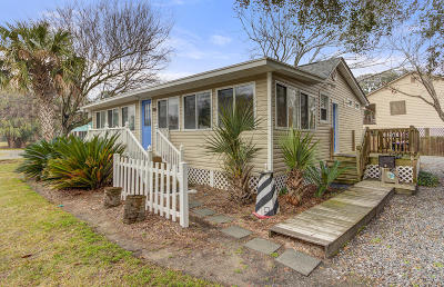 Folly Beach Single Family Home Contingent: 212 E Ashley Avenue