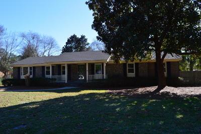 Walterboro Single Family Home Contingent: 207 Chamblee Road