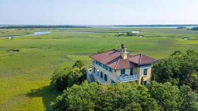 Awendaw, Wando, Cainhoy, Daniel Island, Isle Of Palms, Sullivans Island Single Family Home For Sale: 24 Seagrass Lane