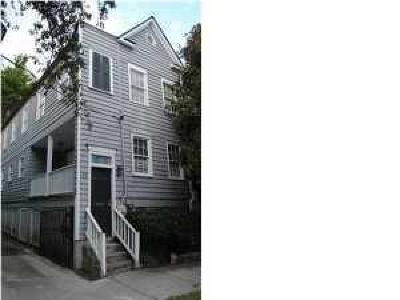 Charleston Single Family Home For Sale: 14 Duncan Street