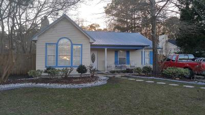 Single Family Home For Sale: 8572 Lake Moultrie Drive