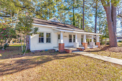 Single Family Home For Sale: 10441 Cottageville Highway