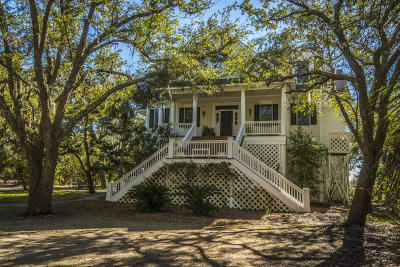 Edisto Island Single Family Home For Sale: 216 Tranquility Lane