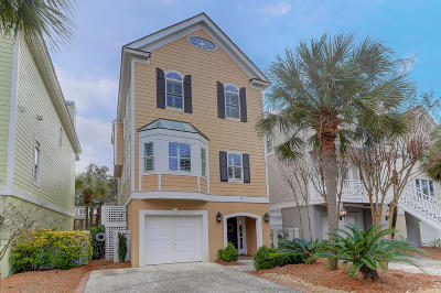 Isle Of Palms Single Family Home Contingent: 7 Commons Court