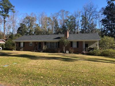Walterboro Single Family Home For Sale: 115 Woodlawn Street