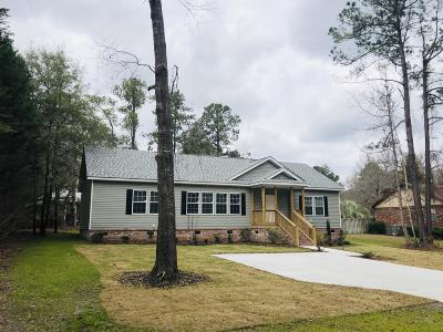 Walterboro Single Family Home Contingent: 315 Teakwood Drive