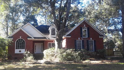 Charleston Single Family Home For Sale: 835 Parrot Creek Way