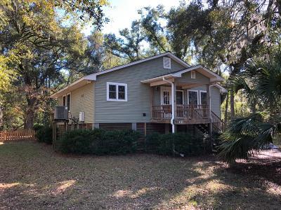 Edisto Island Single Family Home For Sale: 8261 Palmetto Road