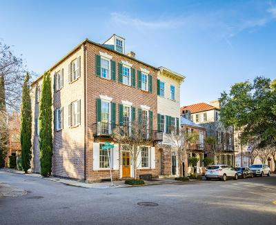 Charleston Single Family Home For Sale: 103 Church Street