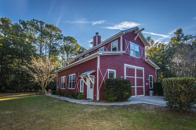 Wadmalaw Island Single Family Home For Sale: 6364 Ranch Road