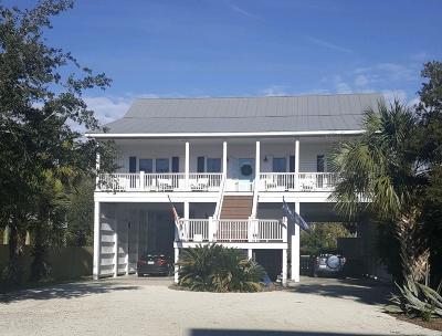 Edisto Island Single Family Home For Sale: 607 Pompano Street