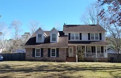 North Charleston Single Family Home For Sale: 113 Bindon Circle