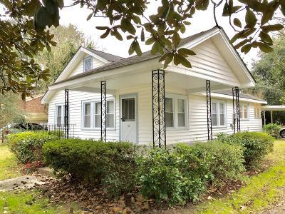 Walterboro Single Family Home For Sale: 104 Hayden Street