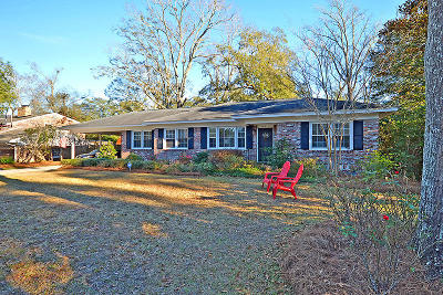 Charleston Single Family Home For Sale: 1612 Culpepper Circle