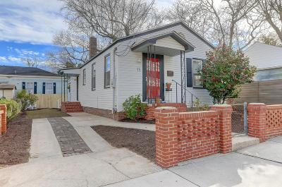 Charleston Single Family Home For Sale: 35 Moultrie Street