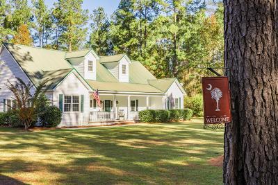 Walterboro Single Family Home For Sale: 626 Benton Farm