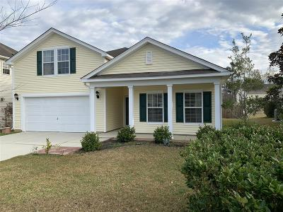 Summerville Single Family Home For Sale: 504 Dolphin Drive