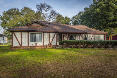 Charleston Single Family Home For Sale: 1326 Bob White Drive