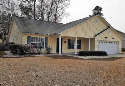 Ladson Single Family Home For Sale: 3260 Miller Drive