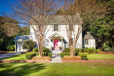 Charleston Single Family Home For Sale: 6 Sheridan Road