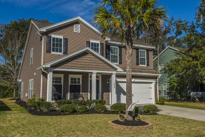 North Charleston Single Family Home For Sale: 5458 Rising Tide