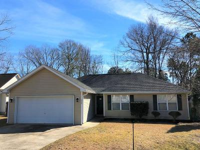 Goose Creek Single Family Home Contingent: 112 Red Cypress Drive