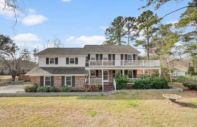 West Ashley Plantation Single Family Home For Sale: 1537 Hutton Place