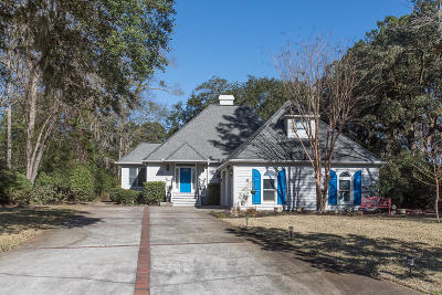 Stono Ferry, Stono Plantation Single Family Home For Sale: 4850 Marshwood Drive