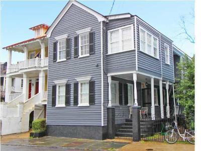 Charleston Single Family Home For Sale: 78 Pitt Street