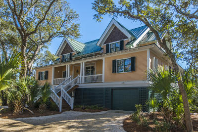 Edisto Island Single Family Home Contingent: 61 Planters Retreat