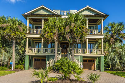 Isle Of Palms Single Family Home For Sale: 2803 Palm Boulevard
