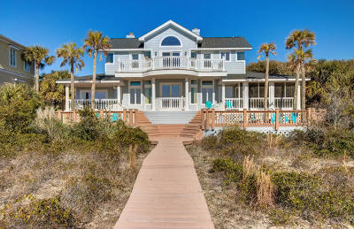 Isle Of Palms Single Family Home For Sale: 11 55th Avenue