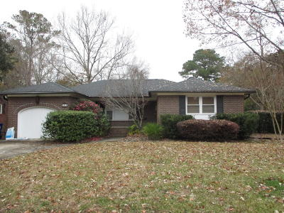 Charleston Single Family Home Contingent: 2410 Spring Garden Street