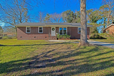 Goose Creek Single Family Home Contingent: 156 Giles Drive