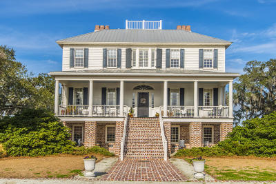 Berkeley County, Charleston County, Colleton County, Dorchester County Single Family Home For Sale: 7845 Brick House Road