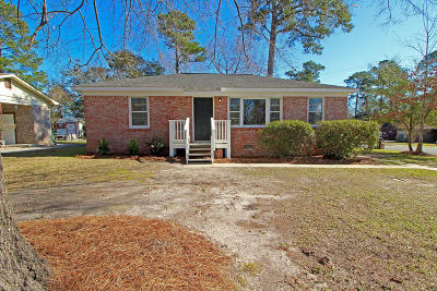 Goose Creek Single Family Home For Sale: 500 Hansford Drive