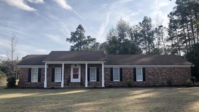 Walterboro Single Family Home For Sale: 111 Winchester Road