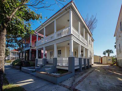 Charleston Multi Family Home For Sale: 119 Fishburne Street #A&B