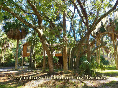 Edisto Island Single Family Home Contingent: 311 Jungle Road