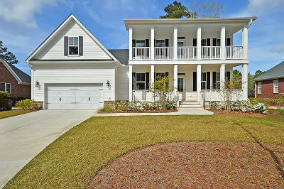 North Charleston Single Family Home For Sale: 8831 E Fairway Woods Drive