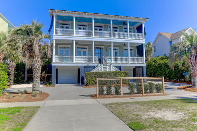 Isle Of Palms Single Family Home Contingent: 3103 Palm Boulevard